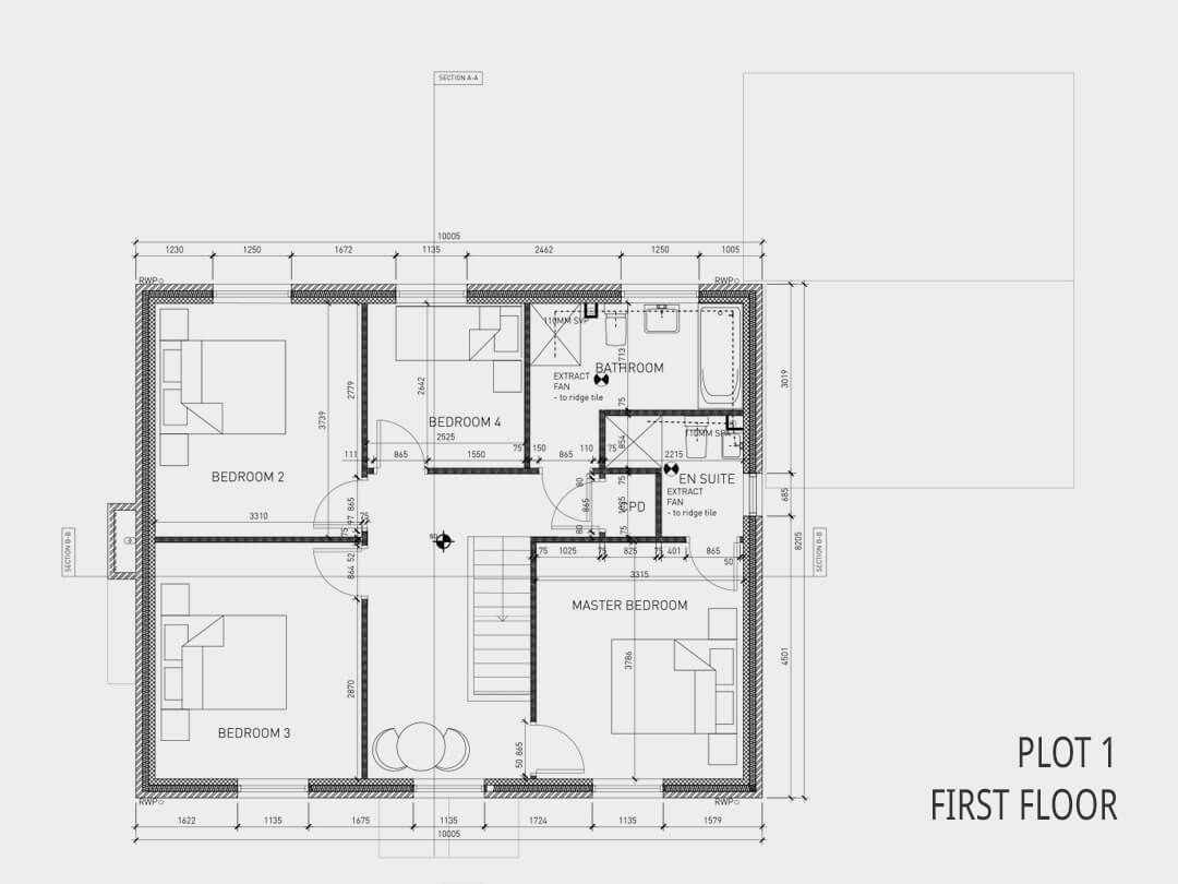 Plot 1 First Floor