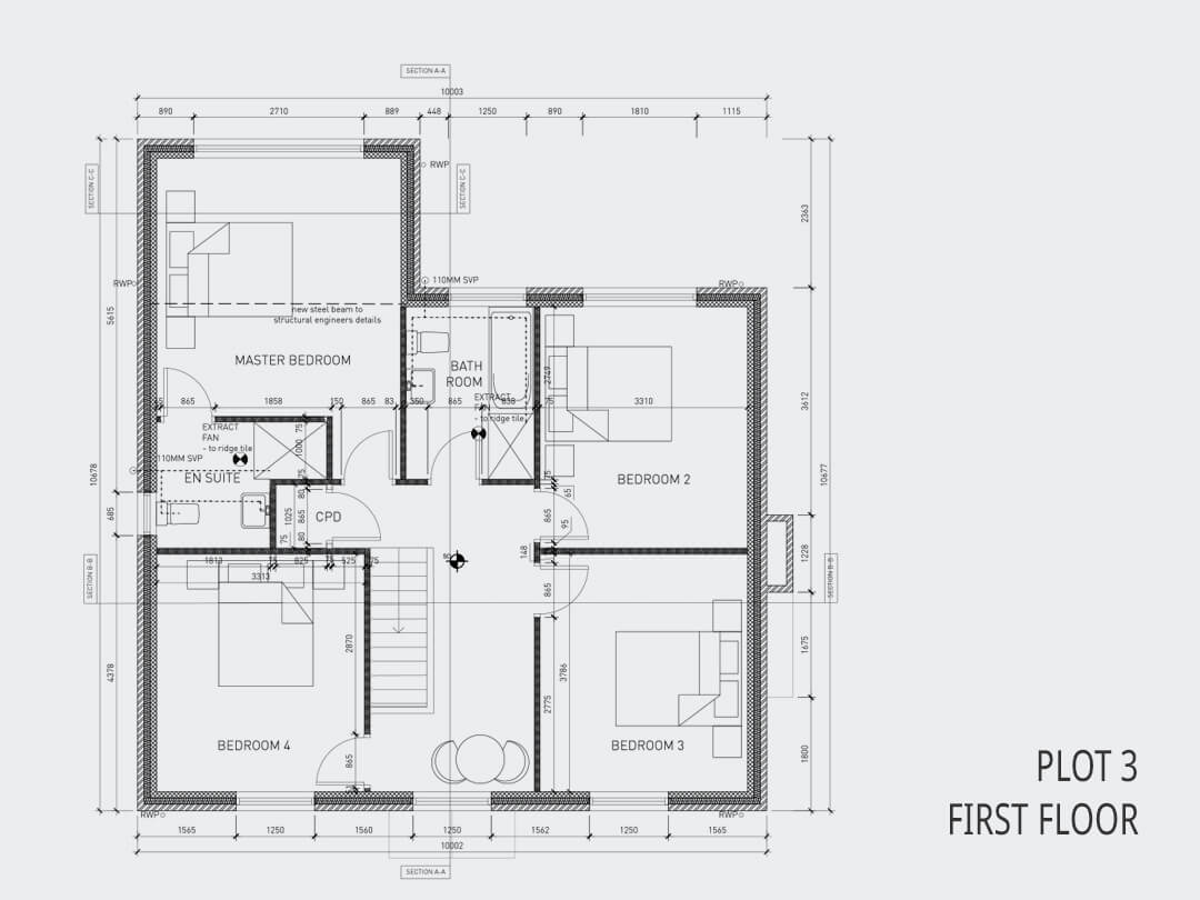 Plot 3 First Floor